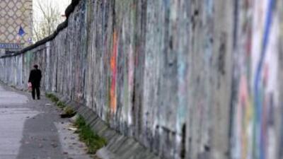 El Muro de Berlín o 'muro de la vergüenza' fue el símbolo de la división...