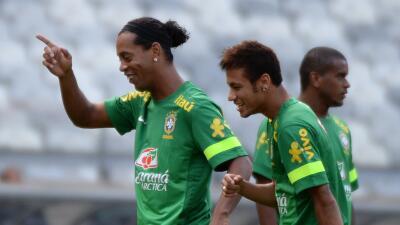 Ronaldinho y Neymar