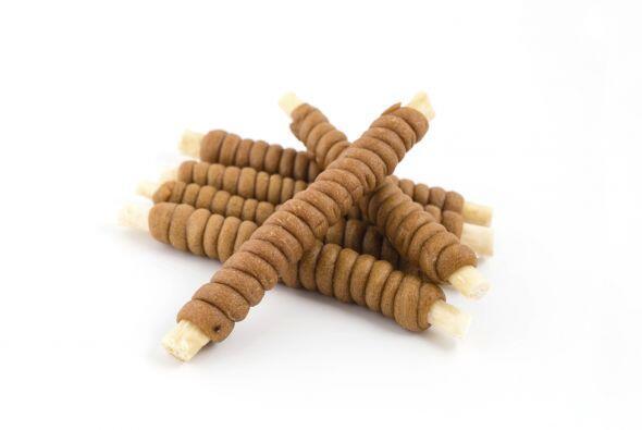 Estos 'snacks' satisfacen las ganas naturales de tu perro de morder, lim...