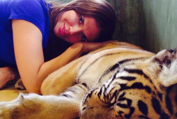 La bella Fernanda Kelly comparte las fotos de sus exóticas vacaciones en...