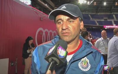 Carlos Bustos: 'Es una gran oportunidad para nosotros enfrentar a rivale...