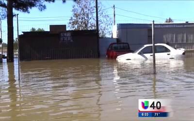 Condado de Robeson se ve afectado por las fuertes inundaciones