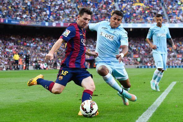 Messi también volvió a tener un buen partido, con dos goles y su habitua...