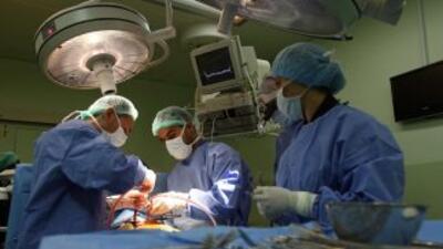 Un equipo de 25 médicos de la República Dominicana realizó un trasplante...