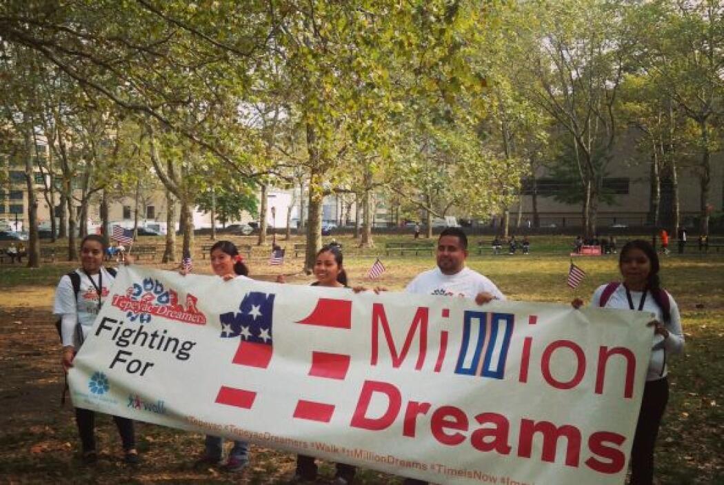 En las marchas por la reforma migratoria participan indocumentados, inmi...