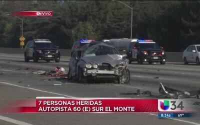 Cierre total por mortal accidente en la autopista 60