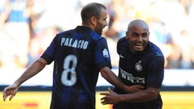 El argentino Palacio hizo dos tantos, mientras que Jonathan logró un gol...