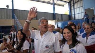 El edil Norman Quijano logró la reelección en la capital salvadoreña.