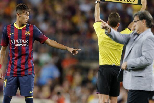 Sin embargo, Neymar reconoció estar un poco fuera de condiciones.