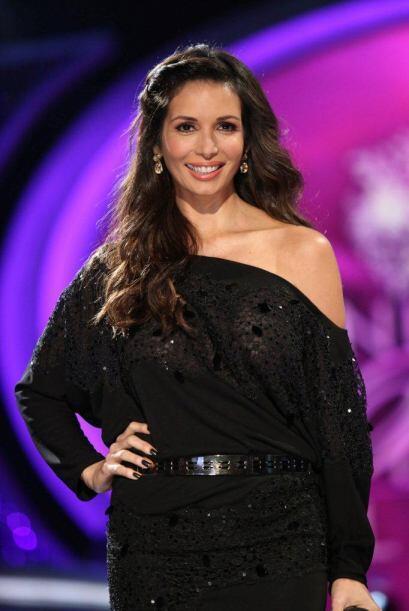 Giselle Blondet y Cristián entretuvieron al público entre comerciales.