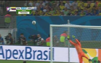 James Rodríguez anotó el mejor gol del Mundial