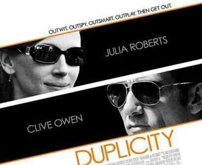 DuplicityJulia Roberts, Clive Owen, Tom Wilkinson y Paul Giamatti estela...