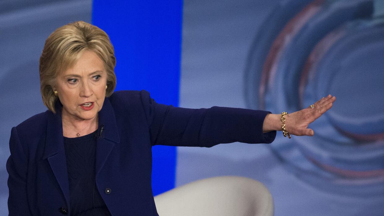 Hillary Clinton responde a los ataques de su contrincante