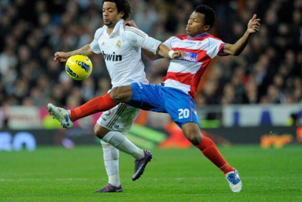 Otro brasileño, Marcelo, tuvo una destacada actuación.