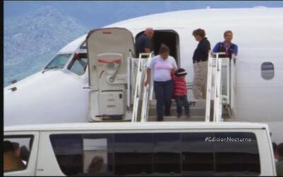 Varios salvadoreños fueron deportados voluntariamente