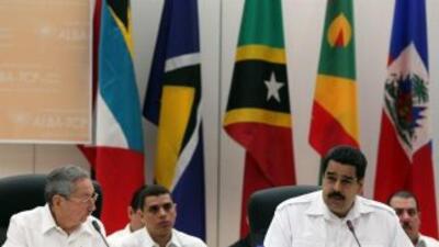 El cónclave del ALBA coincidió con una reunión de ministros de Salud de...
