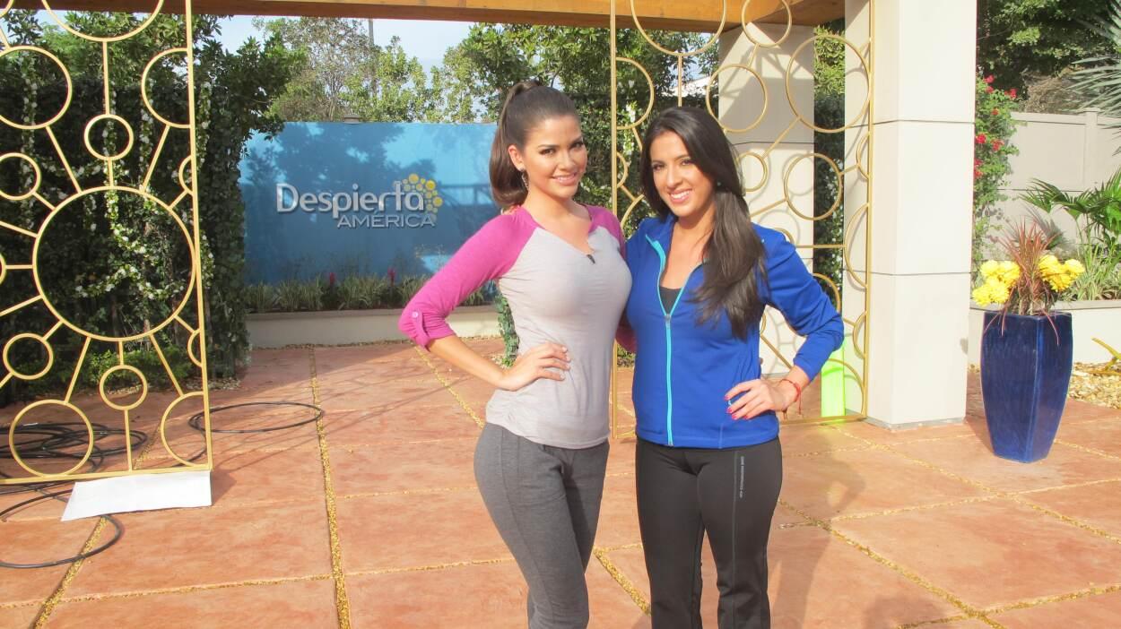 No cabe duda de que Ana y Maity son un par de chicas llenas de energía....