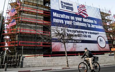 Presidente Trump: 'mazeltov' por su decision de mudar su embajada a Jeru...