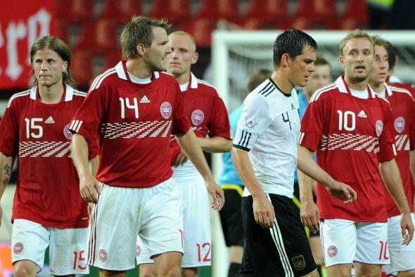 Alemania y Dinamarca igualaron a dos goles, pero reiteraron que son sele...
