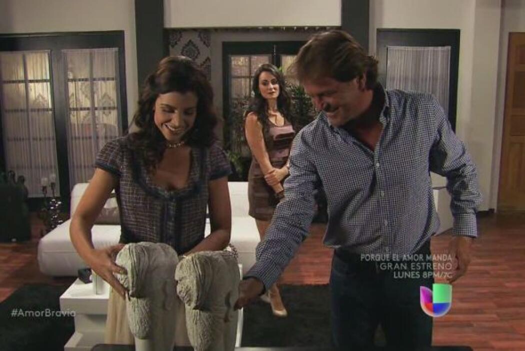 Al parecer, Miriam y Mariano tienen el mismo gusto, ambos coinciden en l...