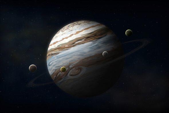 Cuatro de esas grandes lunas de Júpiter se conocen desde hace m&a...