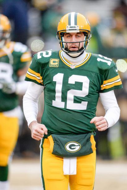 N°9 Aaron Rodgers con su #12 de los Green Bay Packers (AP-NFL).