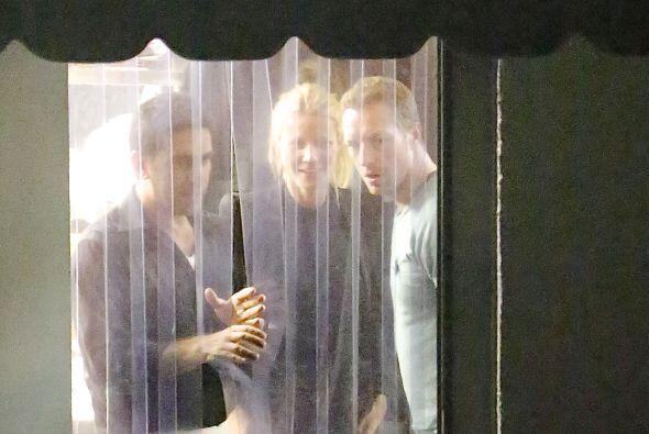 Gwyneth y Chris parecían como si nada... Mira aquí los vid...