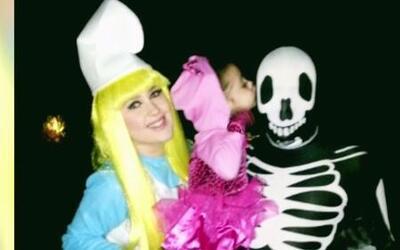 Un miedoso 'look' de la semana de Halloween con Rodner Figueroa