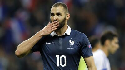 El delantero francés se mostró tranquilo