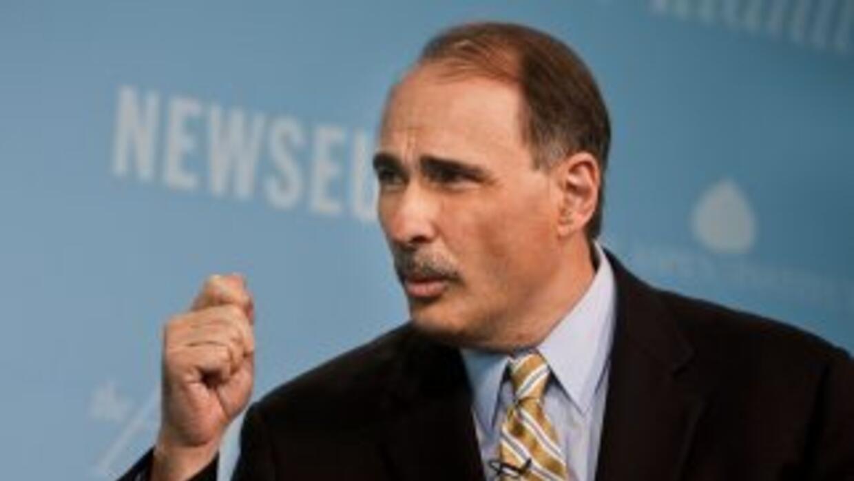 David Axelrod, el principal asesor político de Obama, habló sobre el vot...
