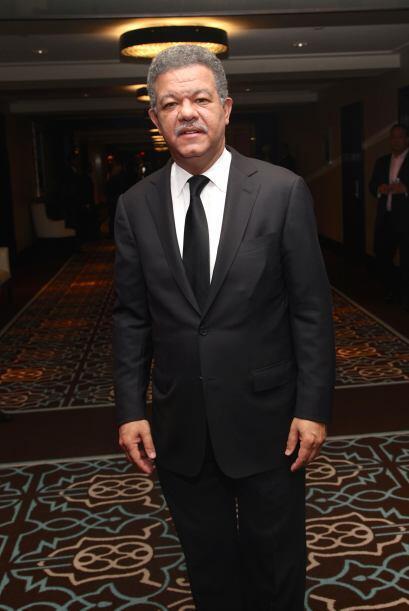 El ex presidente de Republica Dominicana Leonel Fernández no pod&...