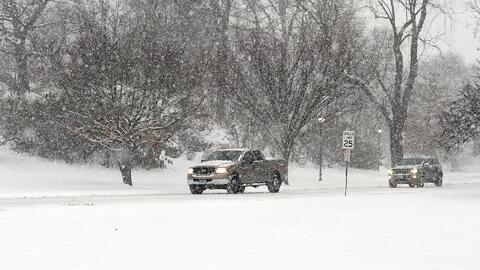 Estado de emergencia en Alabama y Georgia por fuertes nevadas