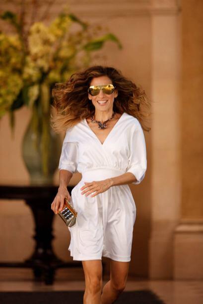 Carrie Bradshaw era todo un maniquí vestido con una mezcla de mod...