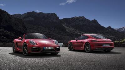 El Cayman y el Bosxter GTS son los autos de producción con motor central...
