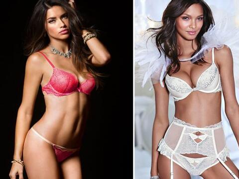 Adriana Lima y Lais Ribeiro han hecho dos sesiones en lencería, c...