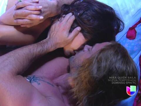 La pasión de Marina y Damián llegó a su culminaci&o...