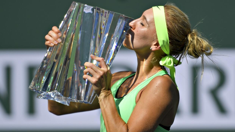 Vesina remonta una final que tenia perdida ante Kuznetsova y se lleva el título en Indian Wells