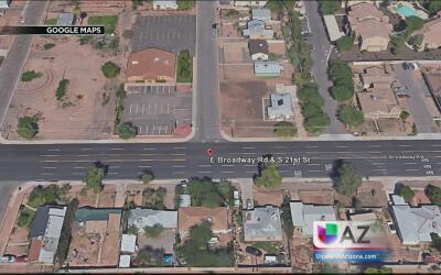 Niño de un año muere atropellado en Phoenix