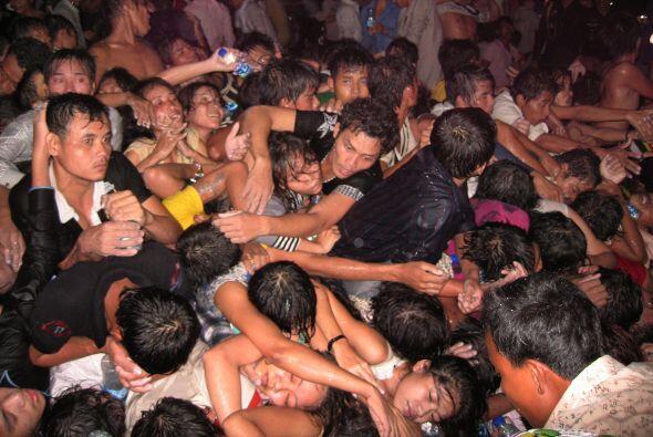 Las autoridades calculan que más de dos millones de personas acudieron a...