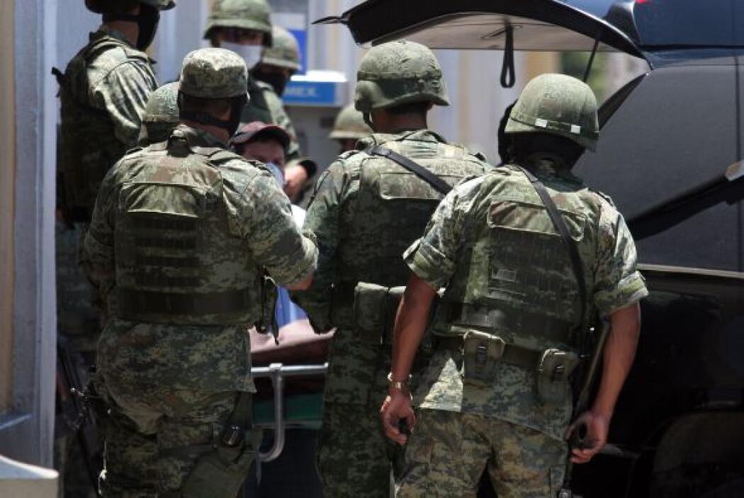 Segun el ejército, Beltrán Coronel, alias 'El Águila' controlaba operaci...