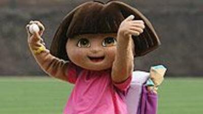 """""""Dora la Exploradora"""" pide a niños y padres que respondan al Censo 2010..."""
