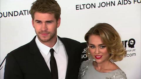 Miley Cyrus y Liam Hemsworth quieren casarse en Australia