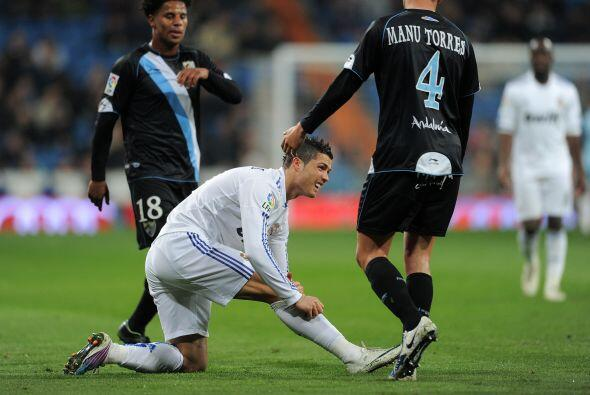 Tod quedó en susto y Real Madrid goleó 7-0 al Málag...
