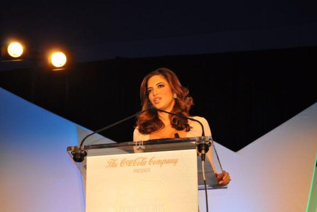 Nuestra presentadora Pamela Silva Conde visitó de Atlana hace unos días...