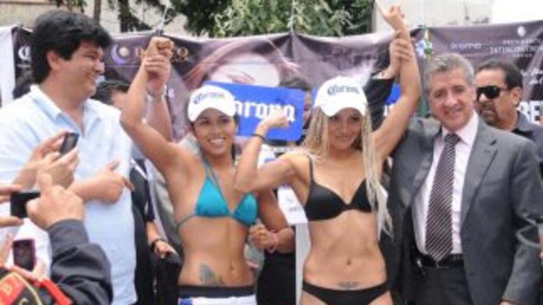 Arely Muciño y Mariana Juárez no tuvieron problemas con la báscula (Foto...