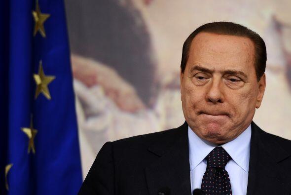 Silvio Berlusconi Berlusconi se estremeció cuando escuchó...