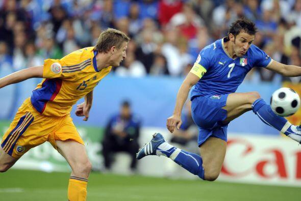 Volvió a jugar con Italia, pero las cosas ya no andaban nada bien...