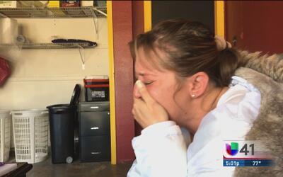 Rompe el silencio la viuda de la víctima del tiroteo en el centro comerc...