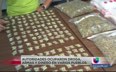 Desmantelan grupo de narcotraficantes en varios pueblos