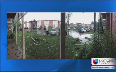 Cinco tornados tocaron tierra en Indiana